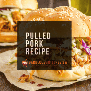 pulled pork recipe image with barbecue grill review image
